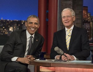 Late tampil With David Letterman