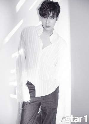 Lee Min Ho - Star1 Magazine May Issue '17