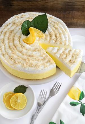 লেবু Cheesecake