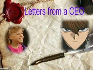 Letters from a CEO