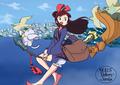 Little Witch Academia - Kiki's Delivery Service - Akko