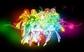 MMPPP Rainbow Wallpaper - mermaid-melody wallpaper