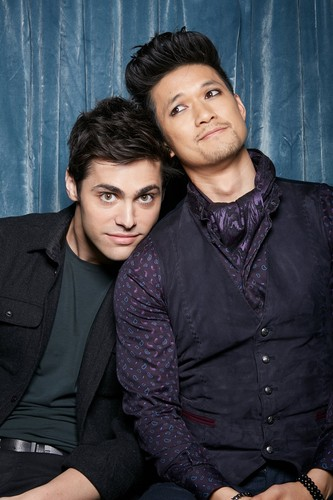 Alec & Magnus 壁紙 entitled Malec photobooth pictures