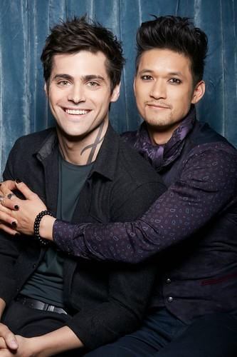 Alec & Magnus fondo de pantalla called Malec photobooth pictures
