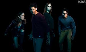 Malia, Scott, Lydia and Liam