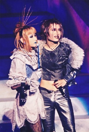 Mana and Gackt