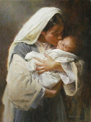 Mary and Baby Yesus