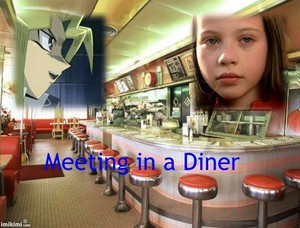 Meeting in a diner