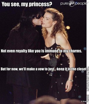 Michael Jackson and Princess Stephanie