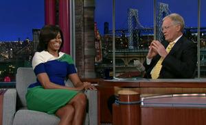 Michelle And David Letterman
