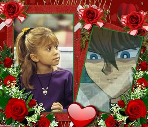 Michelle and Kaiba: Double Red Roses
