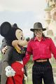 Mickey And Michael Jackson  - disney photo