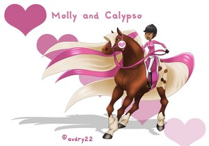 Molly And Calypso