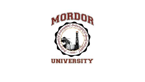 द लॉर्ड ऑफ द रिंग्स वॉलपेपर titled Mordor विश्वविद्यालय