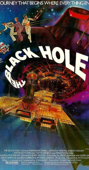 Movie Poster 1979 Disney Film, The Black Hole