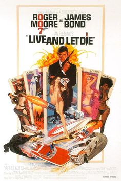 Movie Poster Live And Let Die