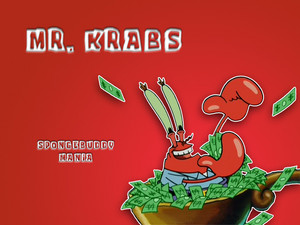 Mr Krabs wallpaper