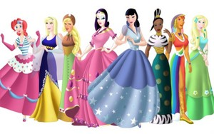 My Little Pony as Disney Princesses