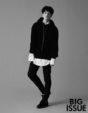 Myungsoo for 'Big Issue'