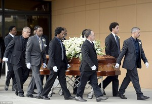 Natalie Cole's Funeral Back In 2015