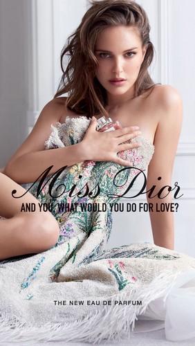 natalie portman wallpaper titled Natalie (Miss Dior)