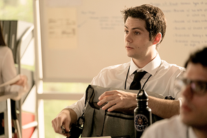 New Still of Stiles Stilinski at the FBI on Teen wolf Season 6B