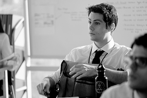 New Still of Stiles Stilinski at the FBI on Teen lobo Season 6B