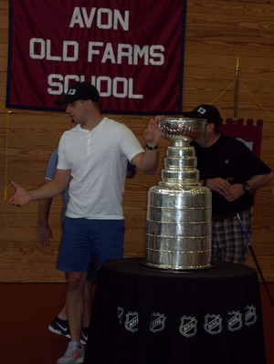 Nick Bonino and the Stanley Cup