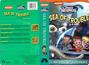 Nickelodeon's Jimmy Neutron Sea Of Trouble VHS