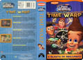 Nickelodeon's Jimmy Neutron Time Warp VHS