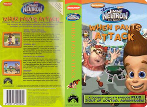 Nickelodeon's Jimmy Neutron When Pants Attack VHS