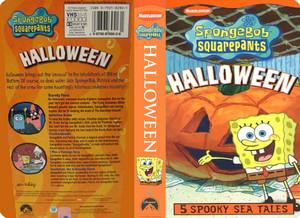 Nickelodeon's Spongebob Squarepants Halloween VHS