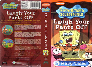 Nickelodeon's Spongebob Squarepants Laugh Your Pants Off VHS