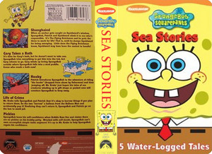 Nickelodeon's Spongebob Squarepants Sea Stories VHS