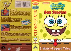 Nickelodeon's Spongebob Squarepants Sea Stories VHS