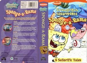 Nickelodeon's Spongebob Squarepants Sponge-a-Rama VHS