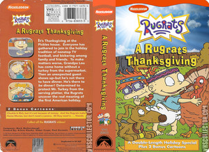 Nickelodeon's Rugrats Thanksgiving VHS