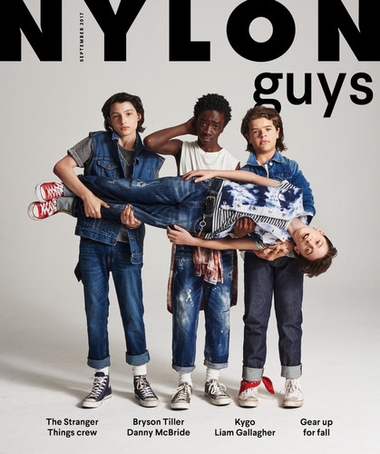 Stranger Things achtergrond entitled Nylon Guys Photoshoot ~ 2017