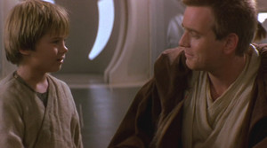 Obi - Wan and Anakin