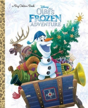 Olaf's 겨울왕국 Adventure Book Cover