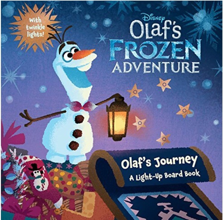 Olaf's Frozen Adventure Book Cover