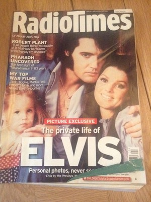 On The Cover Of Radio Times Magazine