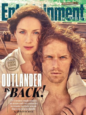 Outlander Season 3 Entertainment Weekly's Cover