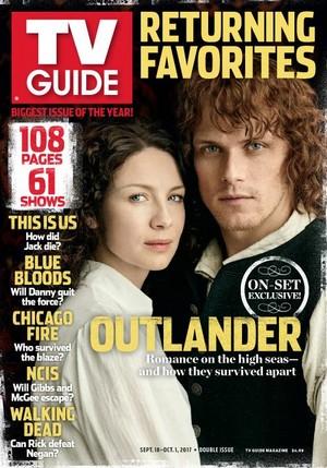 Outlander Season 3 at TV Guide Cover
