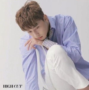 PARK SEO JOON COVERS HIGH CUT VOL. 203