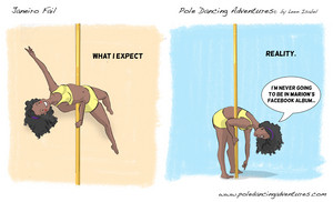 POLE DANCING WHAT I EXPECT