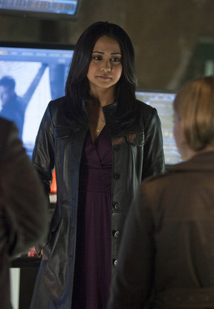 Parminder Nagra as Lucy Banerjee in Alcatraz