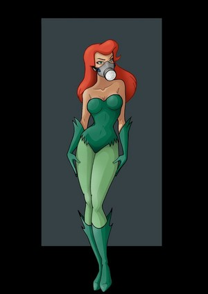 Poison Ivy Gas Mask