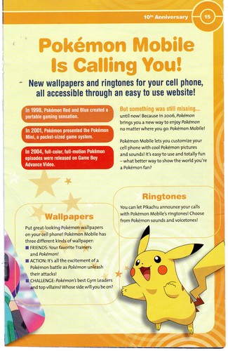 Pokémon wallpaper titled Pokemon Mobile is calling you!