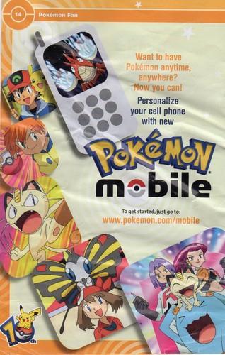 Pokémon wallpaper titled Pokemon Mobile